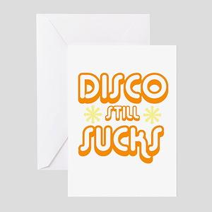 Disco Still Sucks Greeting Cards (Pk of 10)