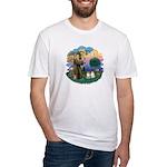 St Fran(f) - 2 Ragdolls Fitted T-Shirt