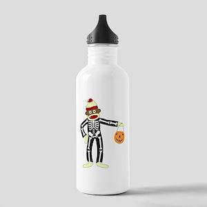 Sock Monkey Halloween Stainless Water Bottle 1.0L