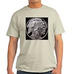 Silver Indian Head Ash Grey T-Shirt