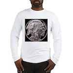 Silver Indian Head Long Sleeve T-Shirt