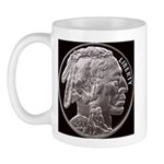 Silver Indian Head LH Mug