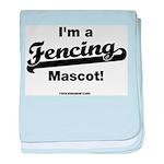 Fencing Team Mascot Infant Blanket