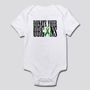 Donate Your Organs With Heart Infant Bodysuit