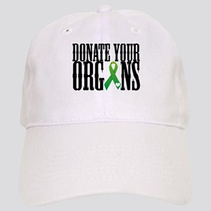 Donate Your Organs With Heart Cap