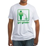 Go Green Fitted T-Shirt