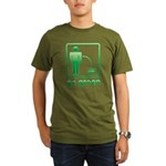 Go Green Organic Men's T-Shirt (dark)