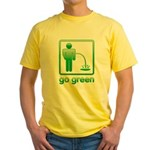 Go Green Yellow T-Shirt