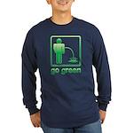 Go Green Long Sleeve Dark T-Shirt
