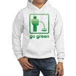 Go Green Hooded Sweatshirt