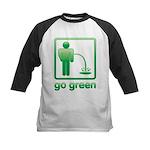 Go Green Kids Baseball Jersey