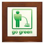 Go Green Framed Tile