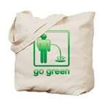 Go Green Tote Bag