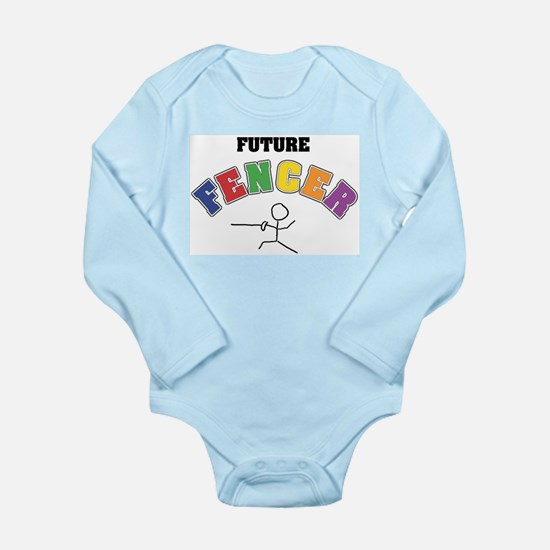 Future Fencer Long Sleeve Infant Bodysuit