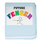 Future Fencer Infant Blanket
