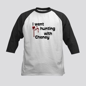 I went hunting with Cheney Kids Baseball Jersey
