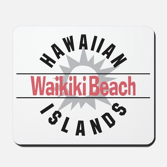 Waikiki Beach Mousepad