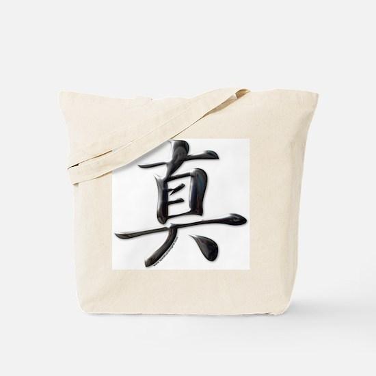 Truth Japanese Kanji Tote Bag
