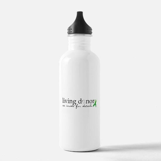 Unique Kidney transplant Water Bottle