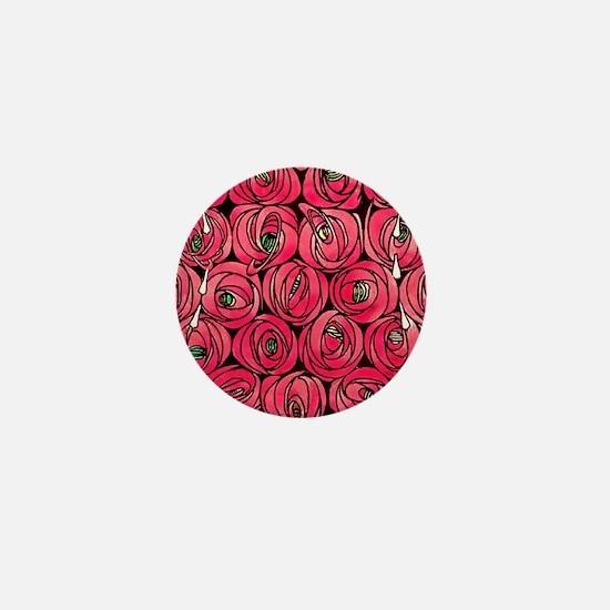Cute Art deco art Mini Button