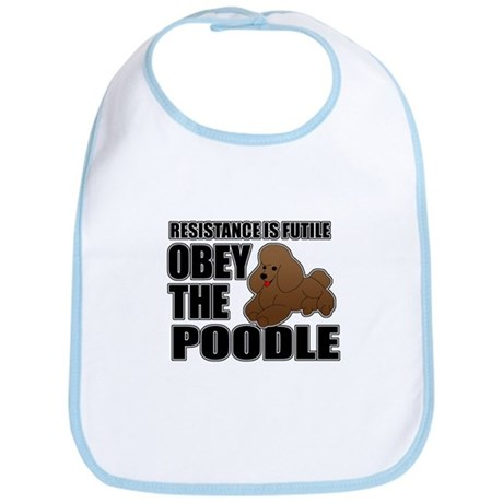 Poodle Bib
