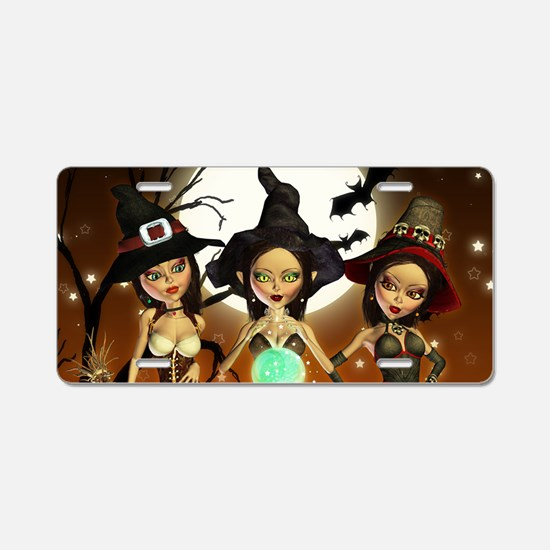 Sisters Three Witch Moon Ni Aluminum License Plate