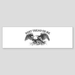 DONT TREAD ON ME Sticker (Bumper)