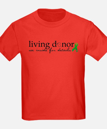 Cute Living donor T