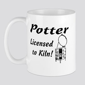Potter. Licensed to Kiln (sketch) Mug