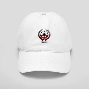 Poland World Cup Soccer Wreath Cap