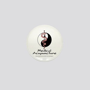 Medical Acupuncture Mini Button