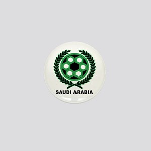 Saudi Arabia World Cup Soccer Wreath Mini Button