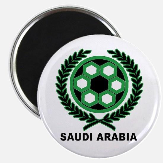 Saudi Arabia World Cup Soccer Wreath Magnet