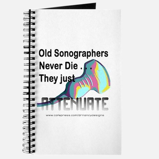 Old Sonographers Never Die Journal