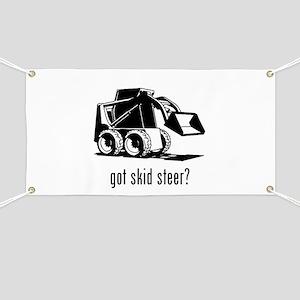 Skid Steer Banner