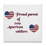 Proud Parent 2 Art Tile