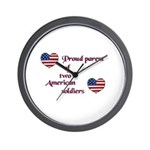Proud Parent 2 Wall Clock