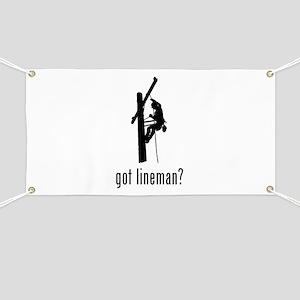 Lineman Banner