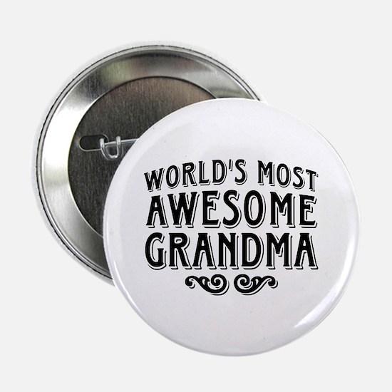 "Awesome Grandma 2.25"" Button"