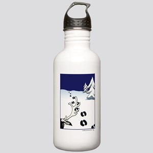 Tracks in the Snow Stainless Water Bottle 1.0L