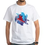 Snowboarder Blasting throug Men's Classic T-Shirts