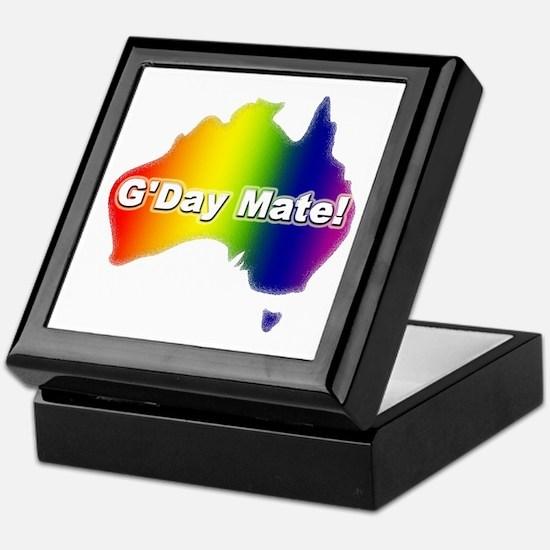 Gay Pride Mate Keepsake Box