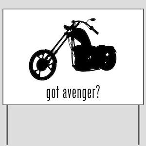 Avenger Yard Sign