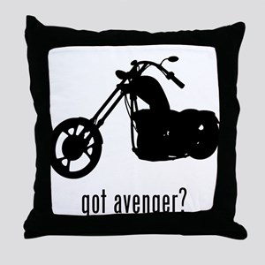 Avenger Throw Pillow