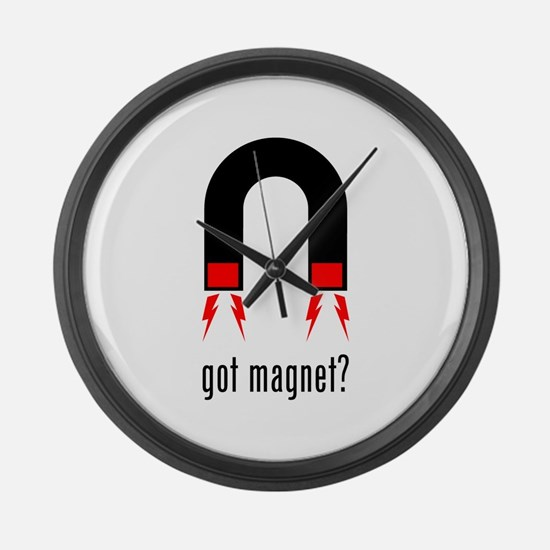 Magnet Large Wall Clock