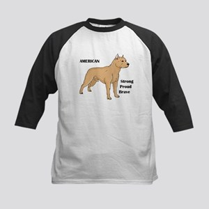 American Cartoon Dog Kids Baseball Jersey