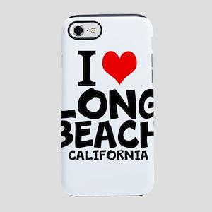 I Love Long Beach, California iPhone 7 Tough Case