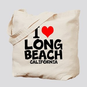 I Love Long Beach, California Tote Bag