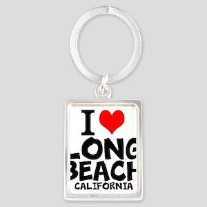 I Love Long Beach, California Keychains