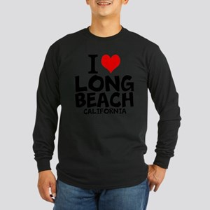 I Love Long Beach, California Long Sleeve T-Shirt